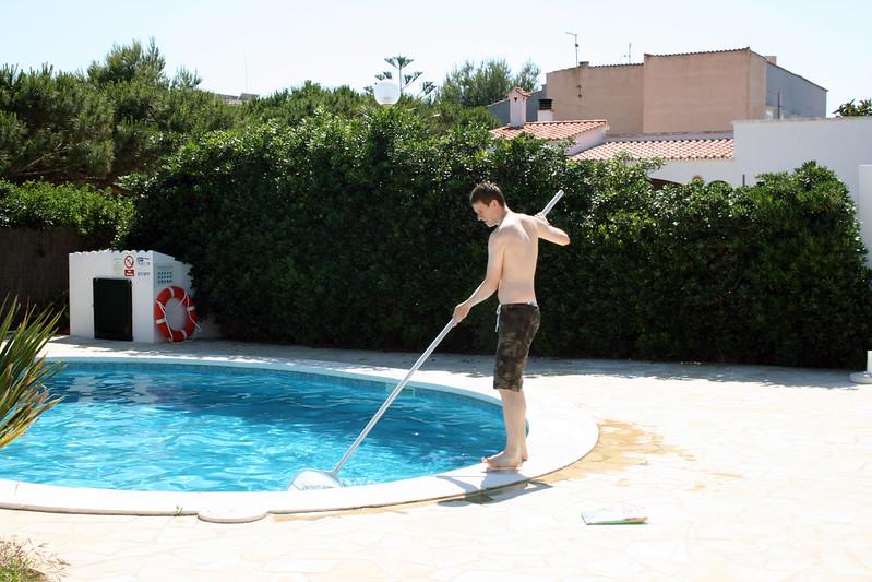 DIY Pool Cleaning