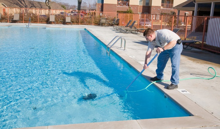 Time and Energy in pool maintenance