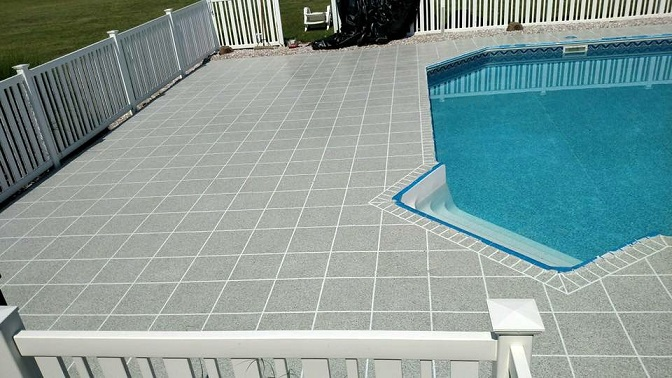 Clean the Pool Deck