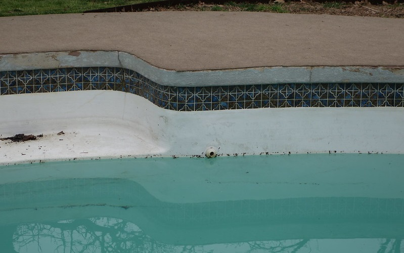 Unknown Loss of Pool Water