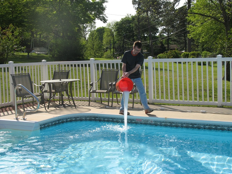 Shock your pool
