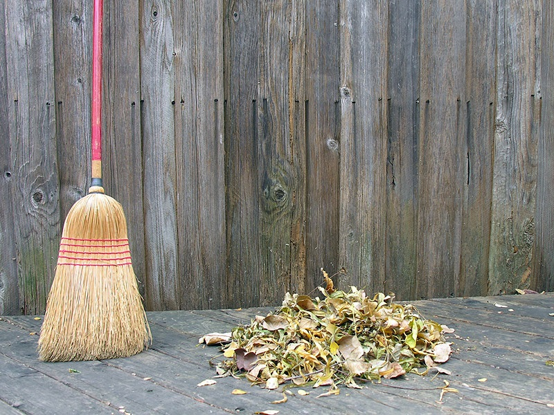 Sweep the deck