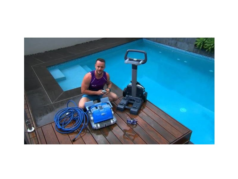 Professional pool cleaning